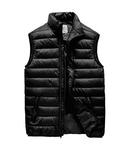 : JYG Men's Winter Quilted Puffer Vest