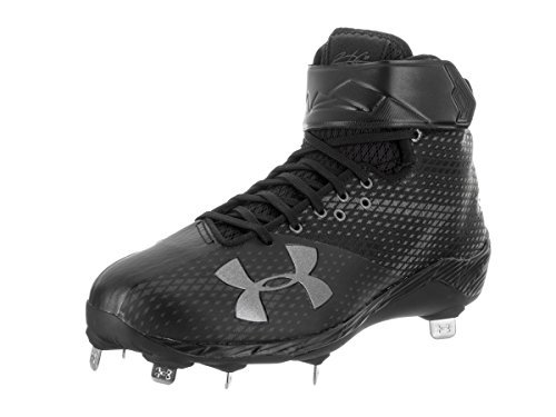Under Armour Men's Harper One Baseball Cleat Black