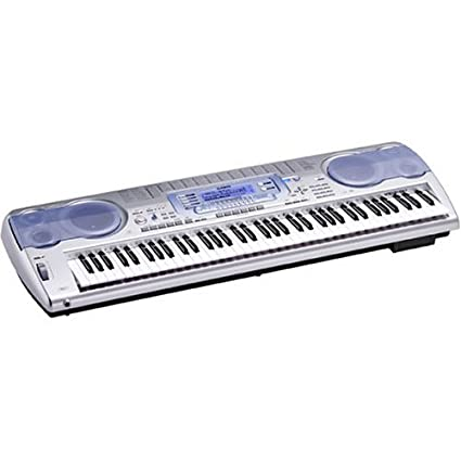 Amazon.com: Casio WK-3100 76 Key Professional Quality Touch Sensitive Keyboard with Internet Data Expansion System: Musical Instruments