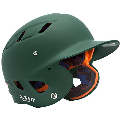 Schutt Sports Senior OSFM 3242 AIR 4.2 Batter's Helmet, Dark Green Matte ()