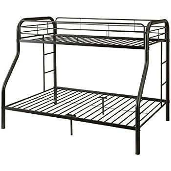 ACME Furniture 02052BK Tritan Bunk Bed, Twin X-Large/Queen, Black
