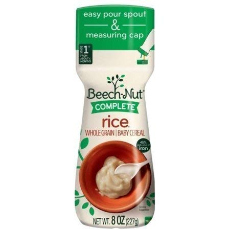 Beech-Nut Complete Rice Cereal - 8 oz (2 Pack) by Beechnut