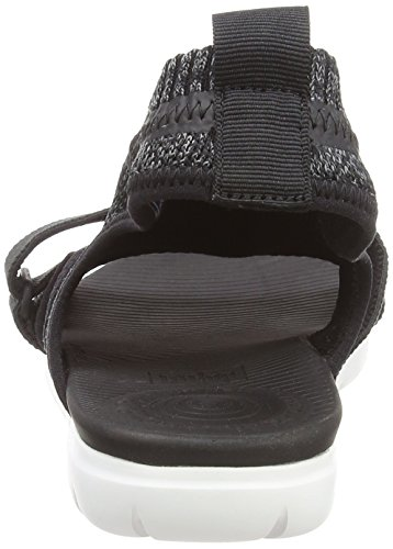 Uberknit Strap Multicolor Black Back Sandals Grey Soft FitFlop 546 HnvwxW7n