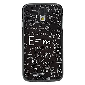 TOPQQ ships in 48 hours Formula Pattern Aluminum Hard Case for Samsung Galaxy S4 I9500
