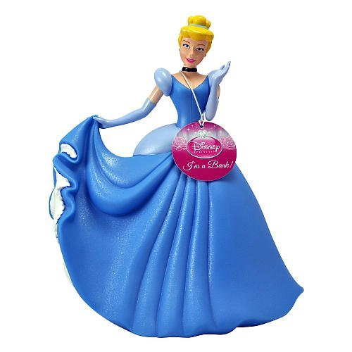 UPC 724328651927, Durable Giant 12 Inch High Plastic Disney Princess Cinderella Coin Bank