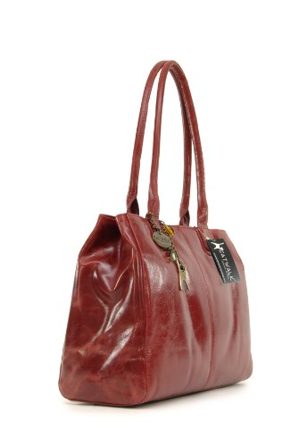 Catwalk Collection Kensington Handbags Womens Red Totes BavaqwY6