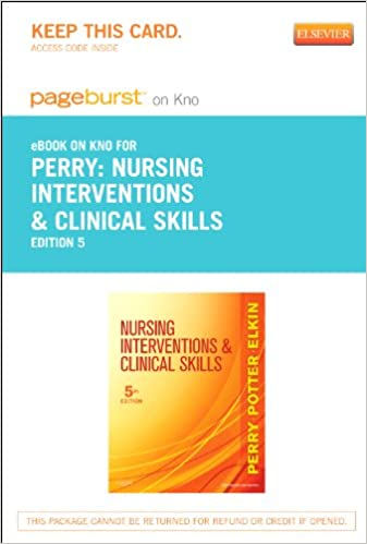 Download ebøger google Nursing Interventions & Clinical Skills - Elsevier eBook on Intel Education Study (Retail Access Card), 5e PDF ePub 0323169619