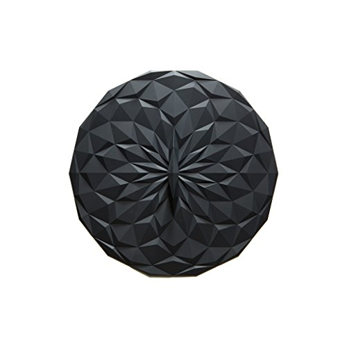 GIR: Get It Right Premium Silicone Round Lid, 8 Inches, Black