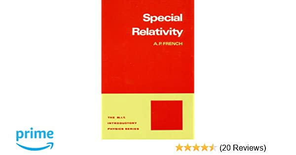 SPECIAL RELATIVITY FRENCH PDF