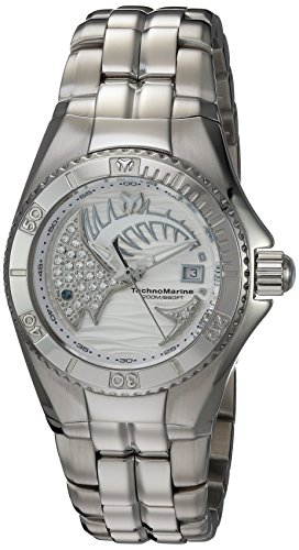 Technomarine Women's 'Cruise' Swiss Quartz Stainless Steel Watch, Color:Silver-Toned (Model: TM-115202)