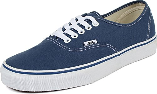 (Vans Mens Authentic Core Classic Sneakers (5 D(M), Navy))