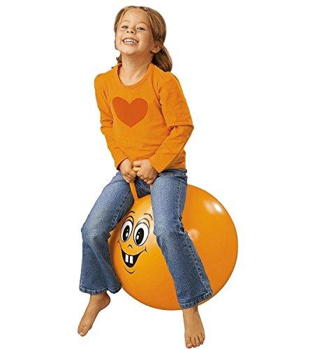 Hüpfball Happy orange