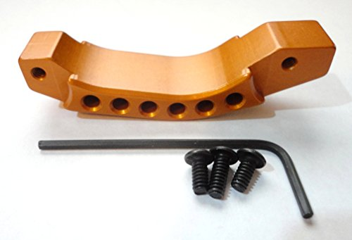 6 Hole Trigger Guard (Screw Assembled) Orange (Deep Gold) by Hunter