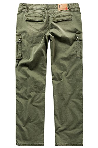 JP 1880 Homme Grandes tailles Pantalon cargo vert foncé 29 708121 40-29