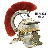 THE ARMOUR WORLD Roman Centurion Helmet Armor with