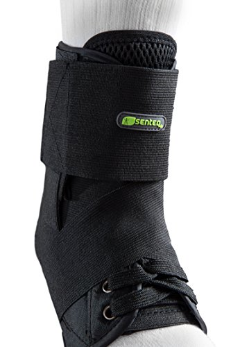SENTEQ Ankle Brace with Stabilizer Strap - Medical Grade & FDA Approved. Best for Achilles Tendonitis, Ankle Sprain, Heel Pain, Foot Fatigue (SQ1 F019 M) by SENTEQ (Image #2)