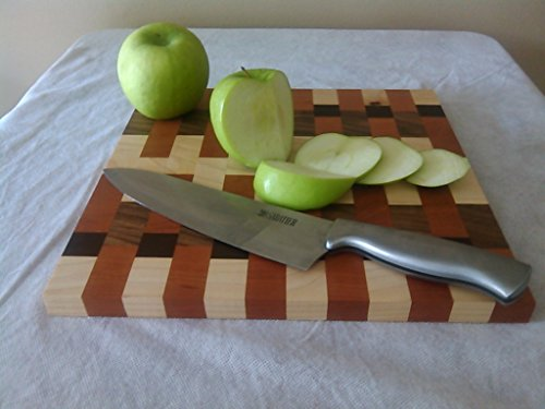 Autumn Walnut (Autumn Leaves Butcher Block Style Cutting Board)