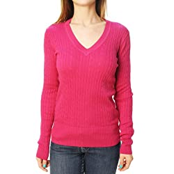 Tommy Hilfiger Women's V-Neck Sweater