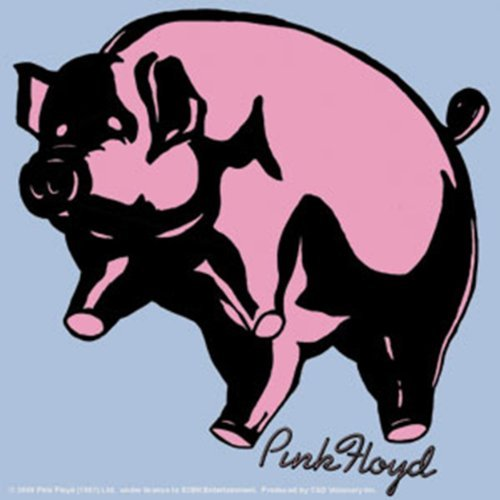 Licenses Products Pink Floyd Pig Sticker by Licenses - Products Floyd