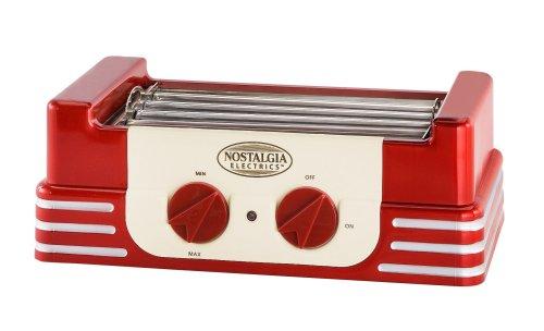 Nostalgia RHD-400 Mini Retro Hot Dog Roller