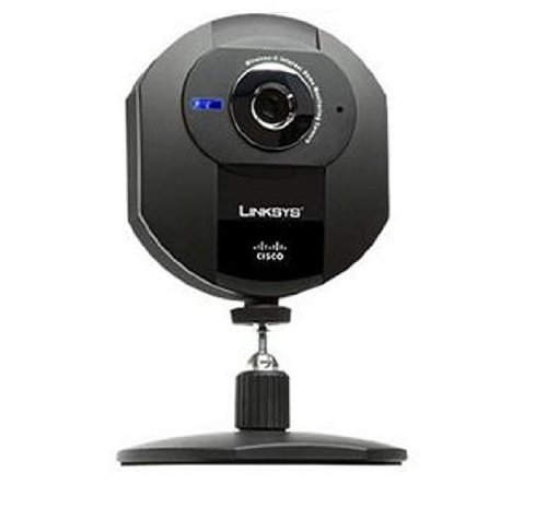 Cisco-Linksys WVC54GCA Webcam 640x480 802.11G Wireless Internet Home Monitoring Camera