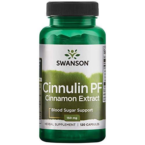 Swanson Cinnulin Pf Cinnamon Extract 150 Milligrams 120 Capsules For Sale