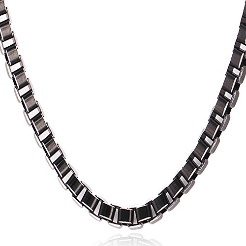 6mm Box Chain Necklace - 3
