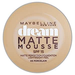 Maybelline MAY FDT DREAM MAT NUgb 05 Porcelaine - Producto