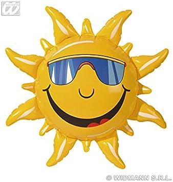 Creative 20258 Inflatable Sun Summer Yellow