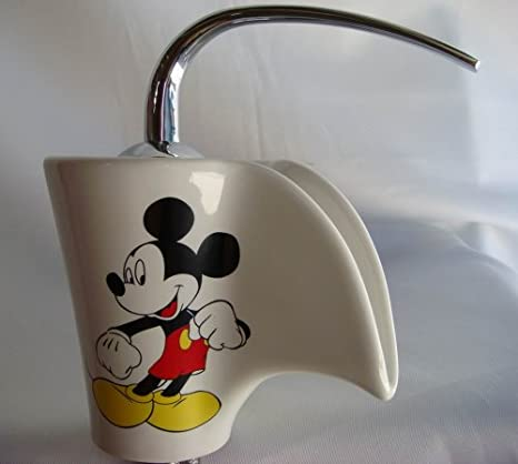 Amazing Mickey Mouse Vessel Sink Filler Glass Chrome Faucet G4 Download Free Architecture Designs Scobabritishbridgeorg