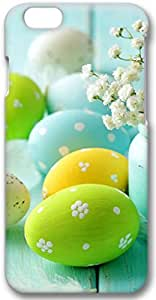 Easter Day Eggs Apple iPhone 6 Plus Case, 3D iPhone 6 Plus Cases Hard Shell Cover Skin Casess
