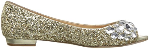 Badgley Mischka Jewel Women's Claire Ballet Flat Platino cheap sale recommend zYe4UI