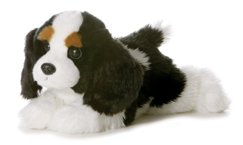 Aurora World Flopsie Plush Charles Dog, - Cavaliers Plush