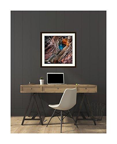 Amanti Art Spa Pool, Hamersley Gorge' by Ignacio Palacios Framed Art Print, 32 x 32'' by Amanti Art (Image #4)