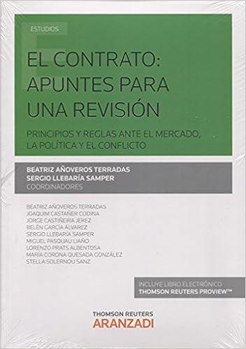 Book CONTRATO APUNTES PARA UNA REVISION