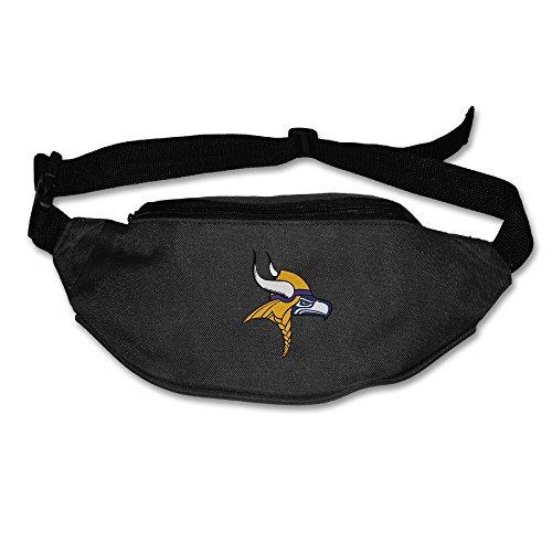 [Kim Lennon Team Seahawk Viking Oxford Multiple Pocket Waist Pack Black] (Hobbes Costumes For Sale)
