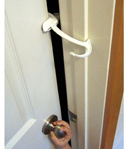 Door Monkey, Childproof Door Lock and Pinch Guard, Safety Toddler Baby Proof, New!!! (Door Jamb Pull Up Bar compare prices)