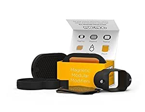 MagMod 2 Basic Kit, Includes MagGrip, MagGrid 2, MagGel 2 Kit, MagMod Transmitter Band, Carrying Pouch