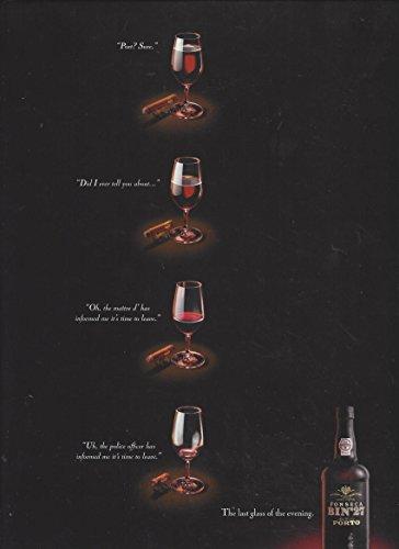 **PRINT AD** For 2000 Fonseca Bin 27 Porto:Last Glass **PRINT AD**