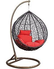 كرسي مرجيحة - أرجوحة - كرسي متأرجح - كرسي معلق - رتان هزاز للاسترخاء والديكور في الليفينج والرووف والبلكونات