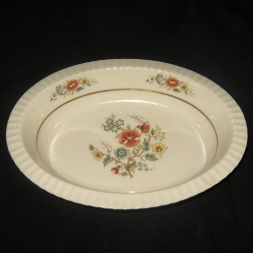 Lenox Temple Blossom Oval Vegetable Bowl