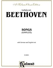 Songs (Complete): 66 Songs, Mostly for Medium Voice (German, English Language Edition), Octavo-Size Book