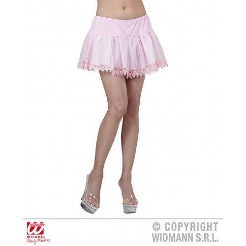 Pink Teardrop Lace Petticoat Petticoat Accessory For 50s 60s 80s Retro ()