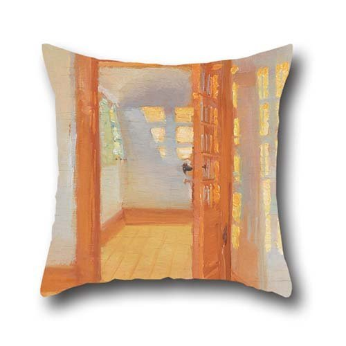 Oil Painting Anna Ancher - Interior. Brøndum's Annex Pillow Shams ,best For Christmas,dance Room,gf,boys,kids Room,father 18 X 18 Inches / 45 By 45 Cm(both (Ferreira Dance And Costumes)
