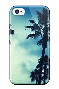 Iphone Case - Tpu Case Protective For Iphone 4/4s- Palm Earth