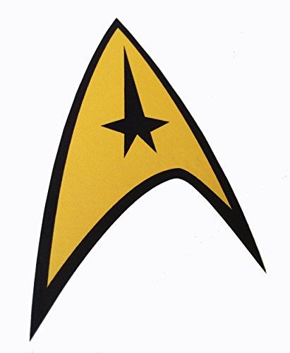 (Star Trek USS Enterprise Vinyl High Quality Decal Sticker 3.5