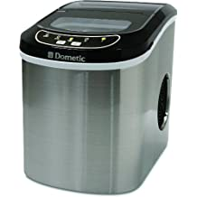 Dometic HZB-12SA Compact Portable Ice Maker, Stainless Finish