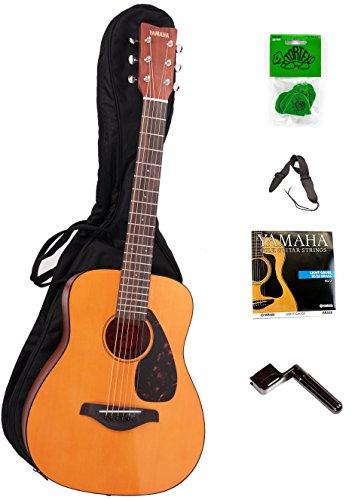 yamaha jr1. yamaha jr1 3/4 size acoustic guitar bundle with bag,strap,strings,winder and picks jr1