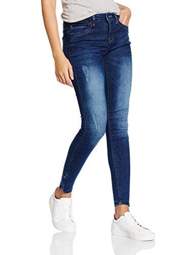ONLY Onlkendell Reg Sk Ank Jeans Cre500 Noos, Donna Blu (Dark Blue Denim)
