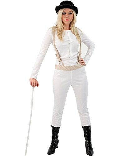Orion Costumes Womens Clockwork Orange Prisoner Film Halloween Extra (Droog Clockwork Orange Costume)